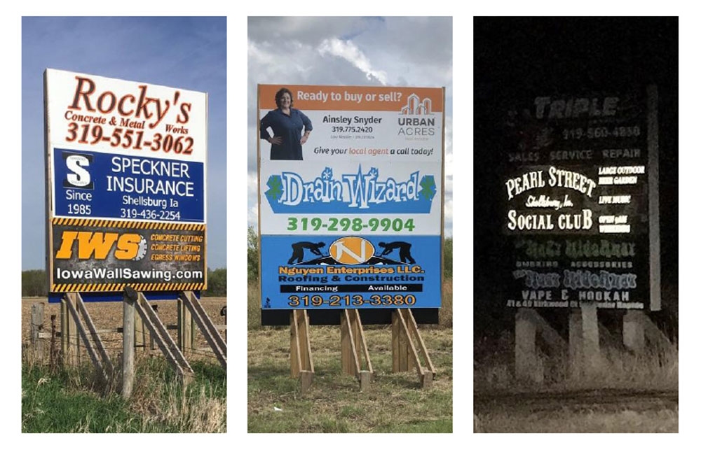 Cedar River Billboard Is Your Source for Roadside Advertising